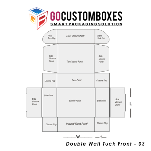 Double Wall Tuck Front Packaging