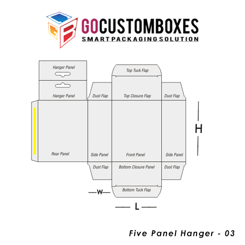 Five Panel Hanger Packaging
