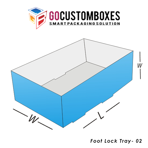 Foot Lock Tray Box