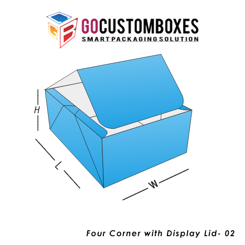 Four Corner With Display Lid Box