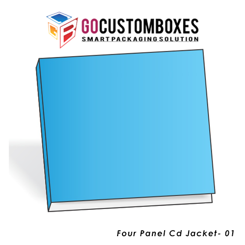 Four Panel Cd Jacket Boxes