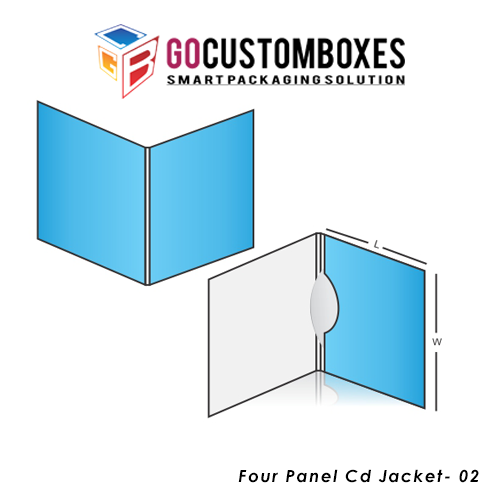 Four Panel Cd Jacket Packaging