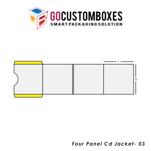 Four Panel Cd Jacket Packaging Design