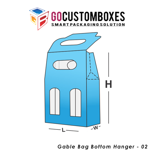 Gable Bag Bottom Hanger Box
