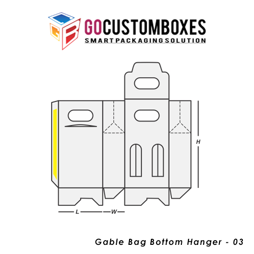 Gable Bag Bottom Hanger Packaging