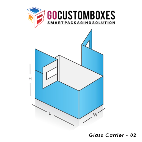 Glass Carrier Box