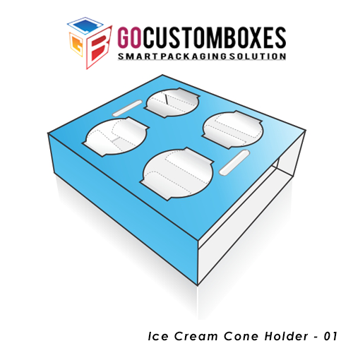 Ice Cream Cone Holder Boxes