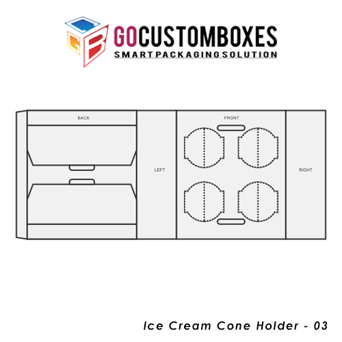 Ice Cream Cone Holder Packaging