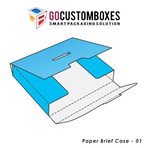 Paper Brief Case Boxes