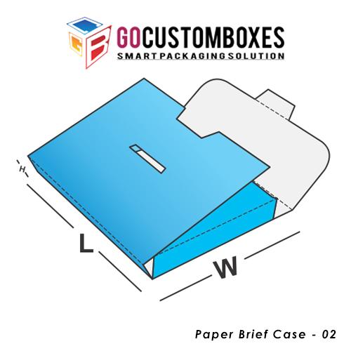Paper Brief Case Box