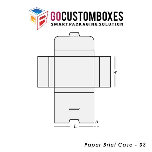 Paper Brief Case Packaging