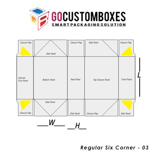 Regular Six Corner Packaging