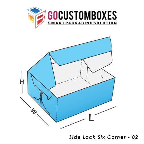 Side Lock Six Corner Box