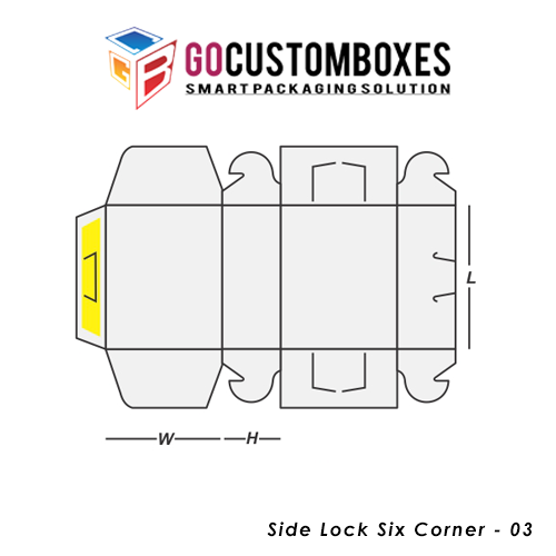 Side Lock Six Corner Packaging