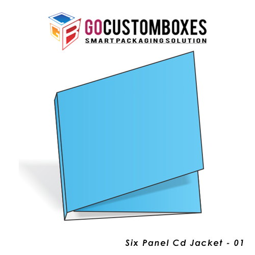 Six Panel Cd Jacket Boxes