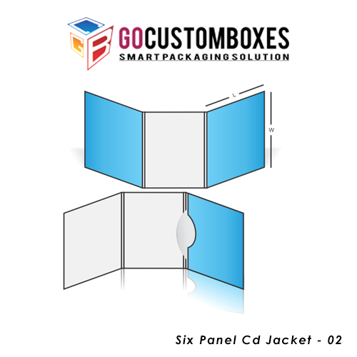 Six Panel Cd Jacket Box