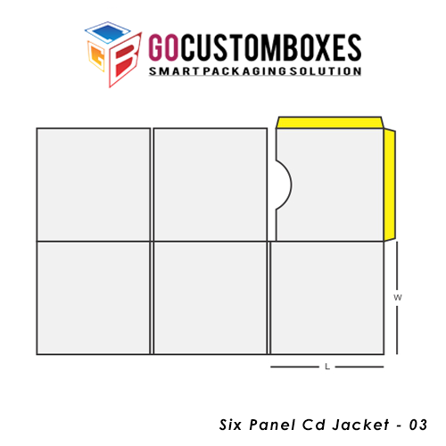 Six Panel Cd Jacket Packaging