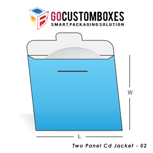 Two Panel Cd Jacket Boxes