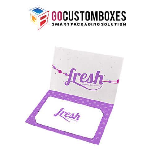 Custom Gift Card Boxe