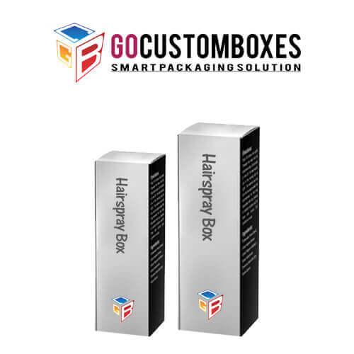 Custom Hairspray Boxes