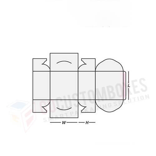 self-lock-cake-box-template